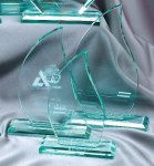 Premium Glass Flame Employee Awards