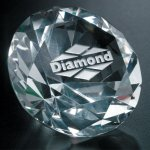 Diamond Paperweight Executive Gift Awards