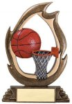 Flame Series -Basketball Flame Resin Trophy Awards