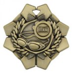 Imperial Swimming Medals Football Trophy Awards