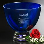 Cobalt Pedestal Bowl Gift Awards
