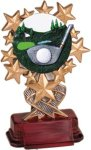 Golf - Starburst Resin Trophy Golf Awards