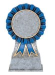 Color Ribbon Resin Mylar Holder Karate Trophy Awards