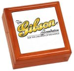 High Gloss Brown Wooden Gift Box Misc. Gift Awards