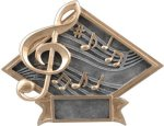 Diamond Plate Resin -Music Music Trophy Awards