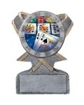 Action Sport Mylar Holder Music Trophy Awards