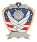 Signature Series Air Force Shield Award Patriotic Awards