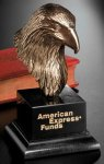 Bronze Eagle Head Patriotic Awards