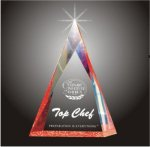 Multi Faceted Pyramid Acrylic Award Pyramid Awards