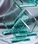 Premium Glass Arrow Sales Awards