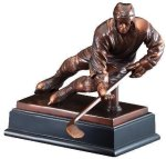 Hockey Signature Black Resin Trophy Awards