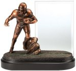 Football Championship Award Signature Black Resin Trophy Awards