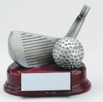 Wedge Signature Rosewood Resin Trophy Awards