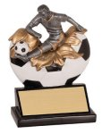 Xploding Resin -Soccer Male  Soccer Trophy Awards