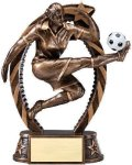 Bronze and Gold Award -Soccer Female Soccer Trophy Awards
