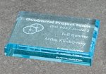 Paper Weight - Straight Bevel Square Rectangle Awards
