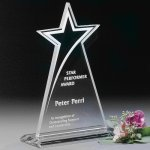 Meteor Star Star Crystal Awards