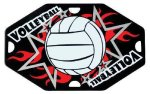 Volleyball Street Tags Street Tag Gifts