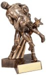Super Star -Wrestling Male Super Star Resin Trophy Awards