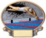 Motion X Oval -Swimming Female Swimming Trophy Awards
