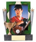 Baseball Sport Frame Team Photo Frame Resin Trophy Awards