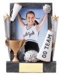 Cheer Sport Frame Team Photo Frame Resin Trophy Awards