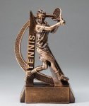 Ultra Action Resin Trophy -Tennis Male  Tennis Trophy Awards