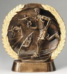 Resin Plate -Track Male  Track Trophy Awards