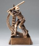 Ultra Action Resin Trophy -Softball Ultra Action Resin Trophy Awards
