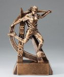 Ultra Action Resin Trophy -Soccer Female  Ultra Action Resin Trophy Awards