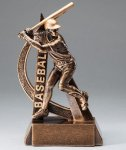 Ultra Action Resin Trophy -Baseball  Ultra Action Resin Trophy Awards