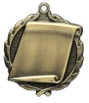 Engraving Scroll Medals Wreath Awards