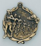 Wreath Cross Country Female Medal Wreath Medal Awards